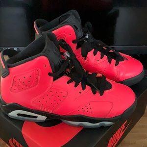 Boys air Jordan sneakers size 4.5 women's 6